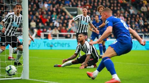 Dendre Yedlin looks on after scoring an own goal