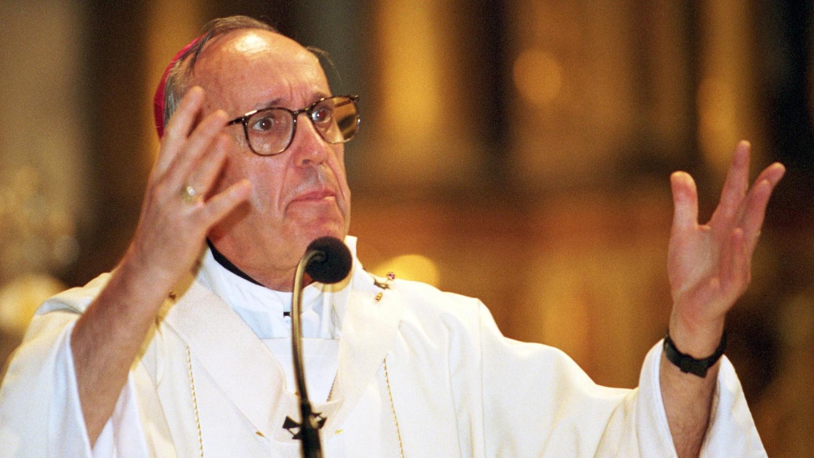 Image - Archbishop Jorge Bergoglio was described as a 'simple pastor'