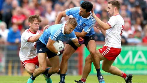The Dubs got out of Omagh with a win in the Super 8s