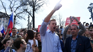 Opposition leader Alexei Navalny was jailed today for a protest he organised on 28 January