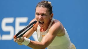 Simona Halep is out of the US Open