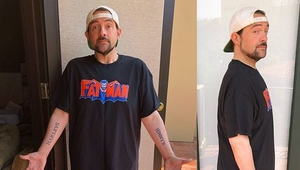 """Smith - """"My hope now is I can slowly lose another 10 [lbs]"""" Kevin Smith/Instagram"""