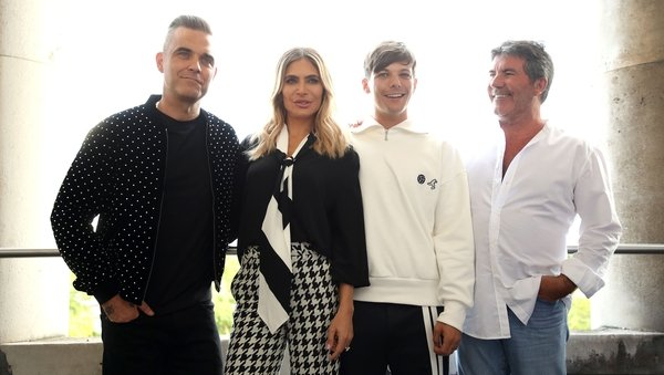 """Simon Cowell - """"What I love about Louis, Robbie and Ayda is that they are all fans of the show in their own way."""""""