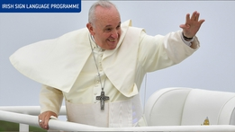 Pope Francis in Ireland: Highlights (ISL)