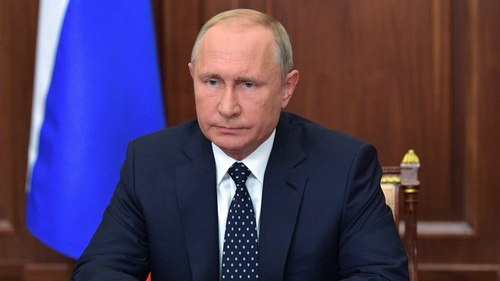 Vladimir Putin stressed the importance of Russia-US relations