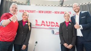 Laudamotion announced a new aircraft livery which reflects the airline's Austrian heritage