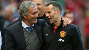 Jose Mourinho has the full support of Ryan Giggs