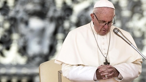 Pope Francis said the lack of vocations in Ireland was partly due to the clerical abuse scandals