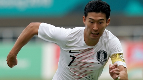 Son Heung-min will avoid military service if South Korea retain their Asian Games title