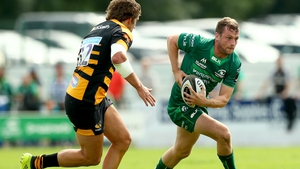 Jack Carty in pre-season action against Wasps
