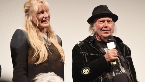 Daryl Hannah and Neil Young have been dating since 2014. Photograph: Matt Winkelmeyer/Getty for SXSW