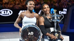 Serena (R) and Venus Williams last clashed in last year's Australian Open final