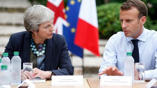 Emmanuel Macron fears a no-deal Brexit will damage Europe