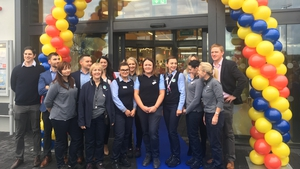 Nine new employees have joined the team at the new Lidl in Fortunestown