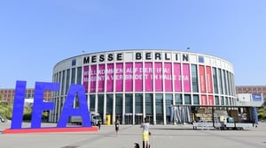 1,800 exhibitors will take part in this year's IFA at the Messe Berlin