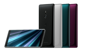 The XZ3 has a new OLED display