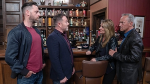 Carol threatens to expose Cathal to Aidan on Fair City