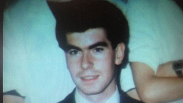 Patrick Nugent was 23 when he died in 1984