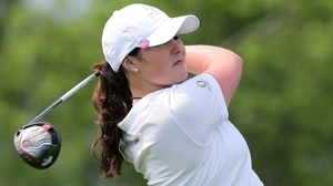 It was a tough day at the office for Olivia Mehaffey and Ireland