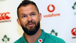 Andy Farrell's stock is high with Ireland