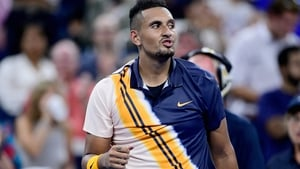 """In a video post last month Nick Kyrgios described Rafael Nadal as """"super salty"""" after defeats."""