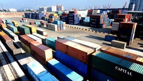China's exports dropped 3.2% in September, while imports dived 8.5%, new figures show today