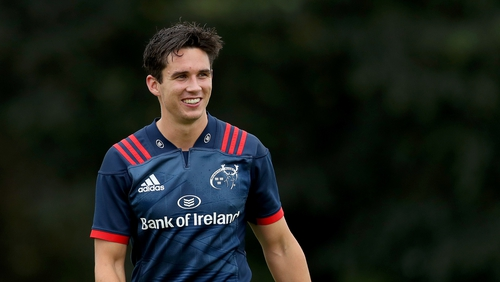 Joey Carbery will likely make his competitive debut for Munster this weekend.