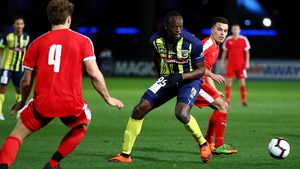 Usain Bolt played the last 20 minutes of Central Coast Mariners 6-1 pre-season friendly win over a Central Coast Select XI