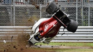 Marcus Ericsson's spectacular crash