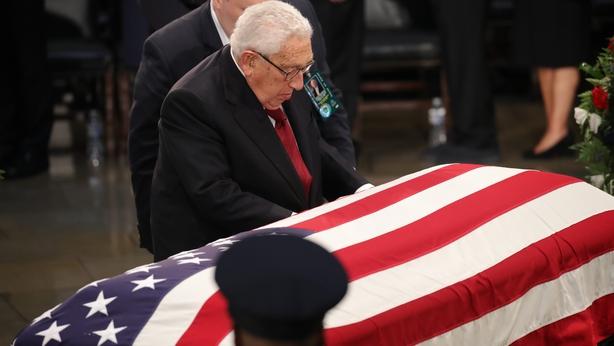 Former presidents, senators, colleagues, family deliver moving tributes to Sen. John McCain