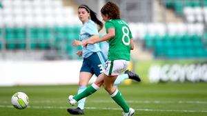 Leanne Kiernan scores her second goal