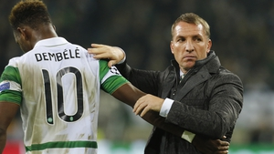 Goodbye now, Rodgers sees Dembele on his way