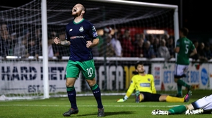 Shamrock Rovers are chasing another victory over Cork