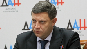 Alexander Zakharchenko was head of the self-proclaimed Donetsk People's Republic