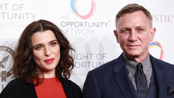 Rachel Weisz and Daniel Craig - First shared their happy news in April