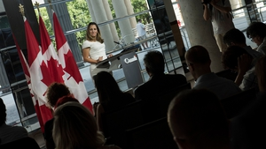 Canadian Foreign Minister Chrystia Freeland said the focus for Canada is getting a good deal