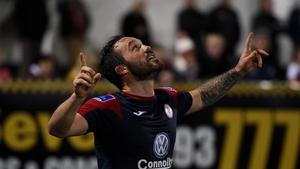Raffaele Cretaro has scored in back-to-back away wins for his side