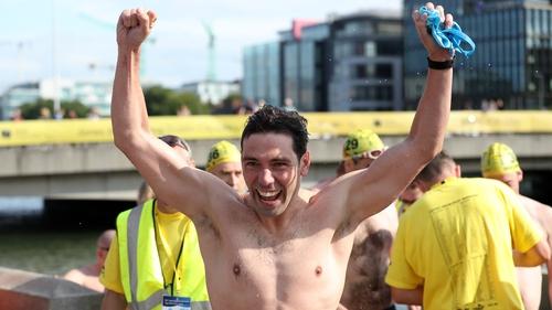 The victorious men's winner Paul O'Flynn (Pic: Jason Clarke Photography)