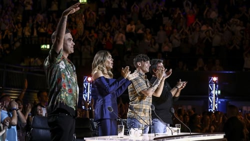 The judges were on their feet a fair bit in the opening episode