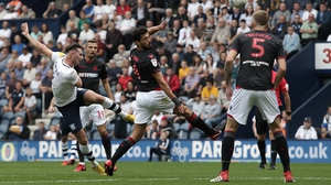 Alan Browne volleyed home a screamer against Bolton Wanderers