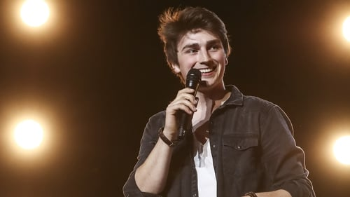 Brendan Murray - One of the happy hopefuls chosen by the judges at the weekend