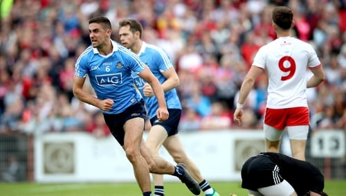 James McCarthy said the competition has ramped up in the Dublin ranks