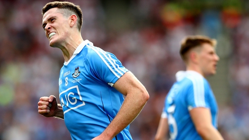 Brian Fenton is still yet to taste defeat for Dublin in the championship after four years on the team