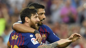Barcelona are back on top of the La Liga table.