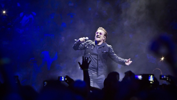 Bono doesn't know if U2 will tour again