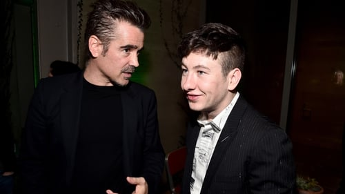 "Colin Farrell says he initially thought Barry Keoghan ""seemed young"" when they first met"
