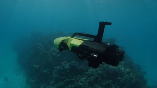 The drone was developed specifically for coral reef environments (Pic: Great Barrier Reef Foundation)