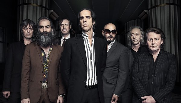 Conway Savage (pictured second from right) with Nick Cave & The Bad Seeds