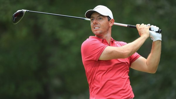 The day ended in disappointment for Rory McIlroy
