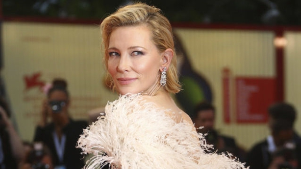 Cate Blanchett at the premiere of A Star Is Born (Joel C Ryan/Invision/AP/PA)